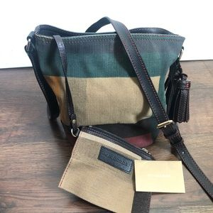 Burberry Ashby Small Multi Printed Canvas Check